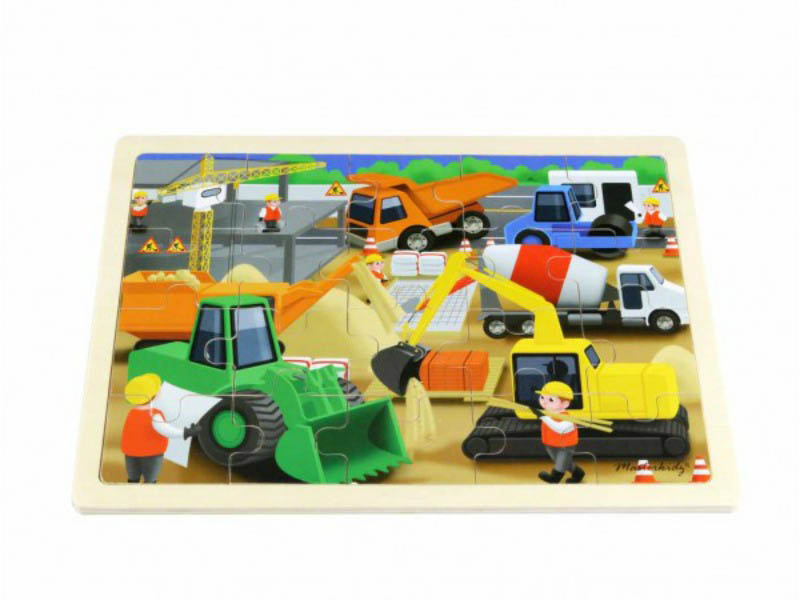 Masterkidz - Jigsaw Puzzle-Construction Site (20pcs)