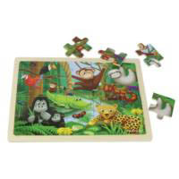Masterkidz - Jigsaw Puzzle-Rainforest