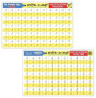 Multiplication Learning Mat both sides