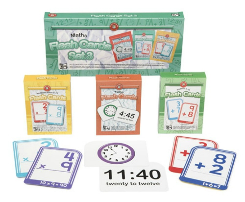 Maths Flash Cards Set of 3