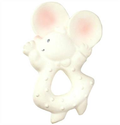 Meiya the Mouse Natural Rubber Teether