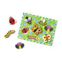 Melissa And Doug Bugs Chunky Puzzle