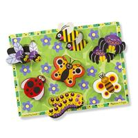 Melissa and Doug Insect Chunky Puzzle