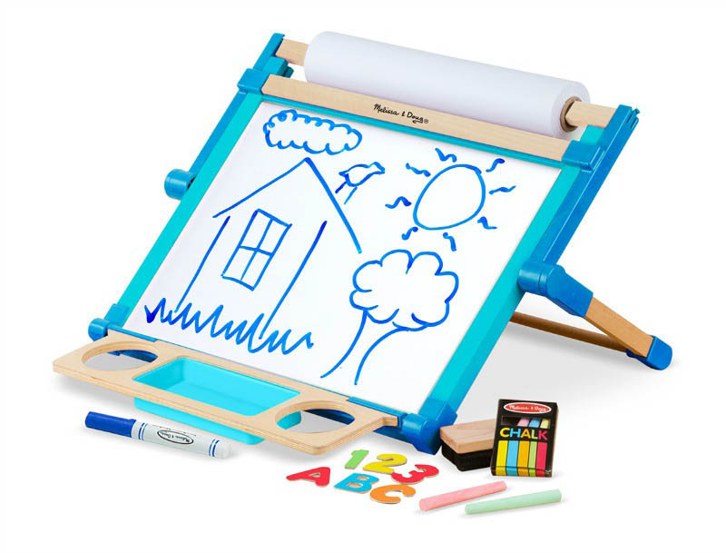 Melissa&Doug-Double-Sided Magnetic Tabletop Easel