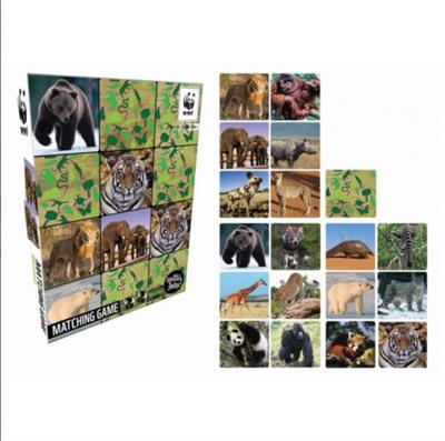 Memory Matching Game Mammals