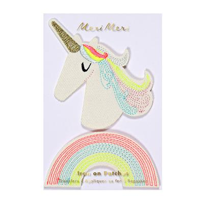 Meri Meri Unicorn Iron on Patches