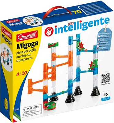 Quercetti Migoga Transparent Marble Run