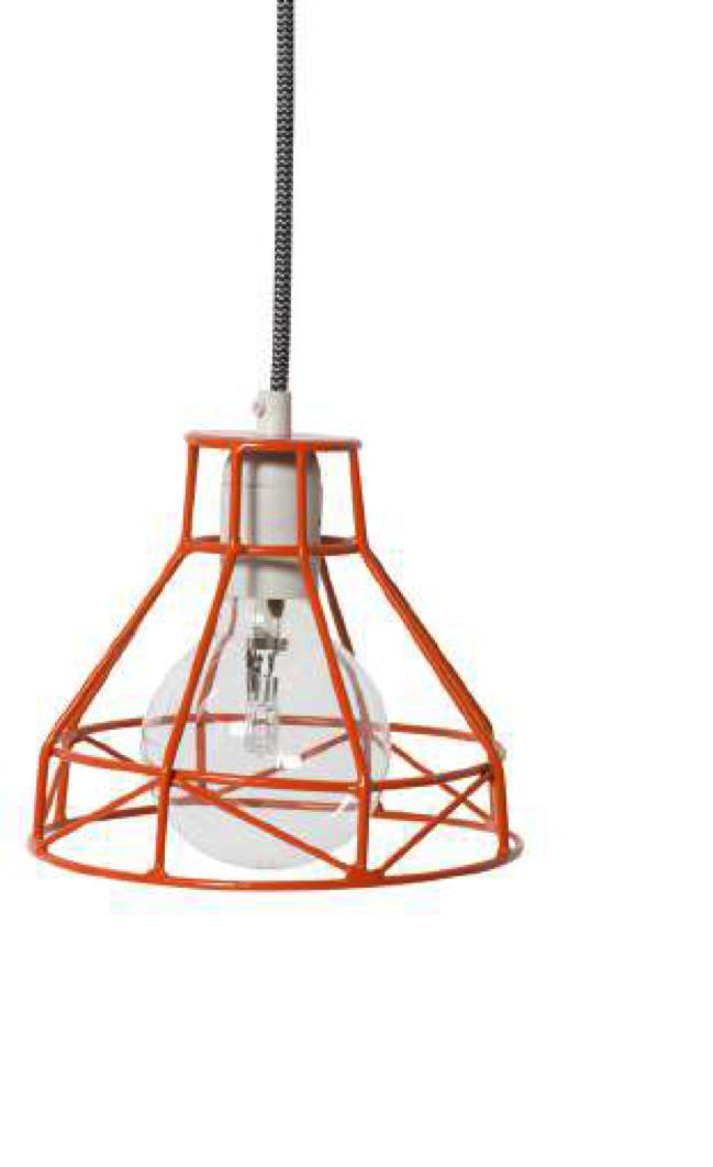 Milk & Sugar Home Decor-Small Winston Pendant Lights-Orange