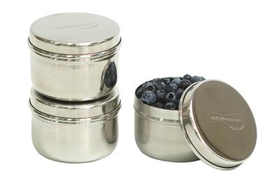 U Konserve Mini Stainless Steel Food Containers - Set of 3