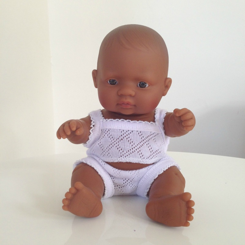 Miniland Hispanic Baby Boy Doll 21cm