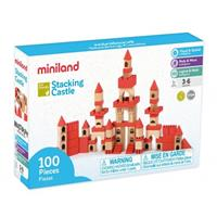 Miniland Eco Stacking Castle 100 pieces