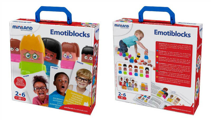 Miniland Emotiblocks