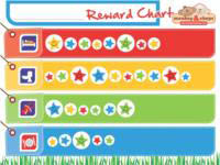 monkey & chops - Fully Magnetised Reward Chart