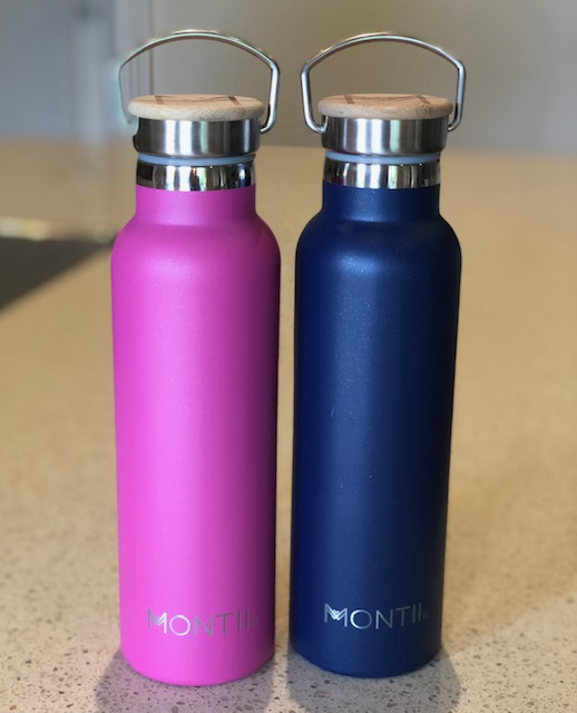 MontiiCo Insulated Glitter Drink Bottles - 600ml
