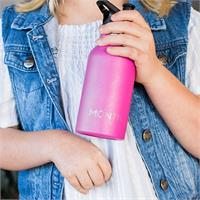 MontiiCo Mini Driink Bottle - Magenta Aqua