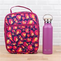 MontiiCo Insulated Leopard Lunch Bag