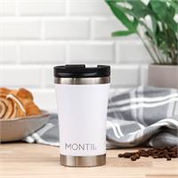 White Coffee Cup Montiico