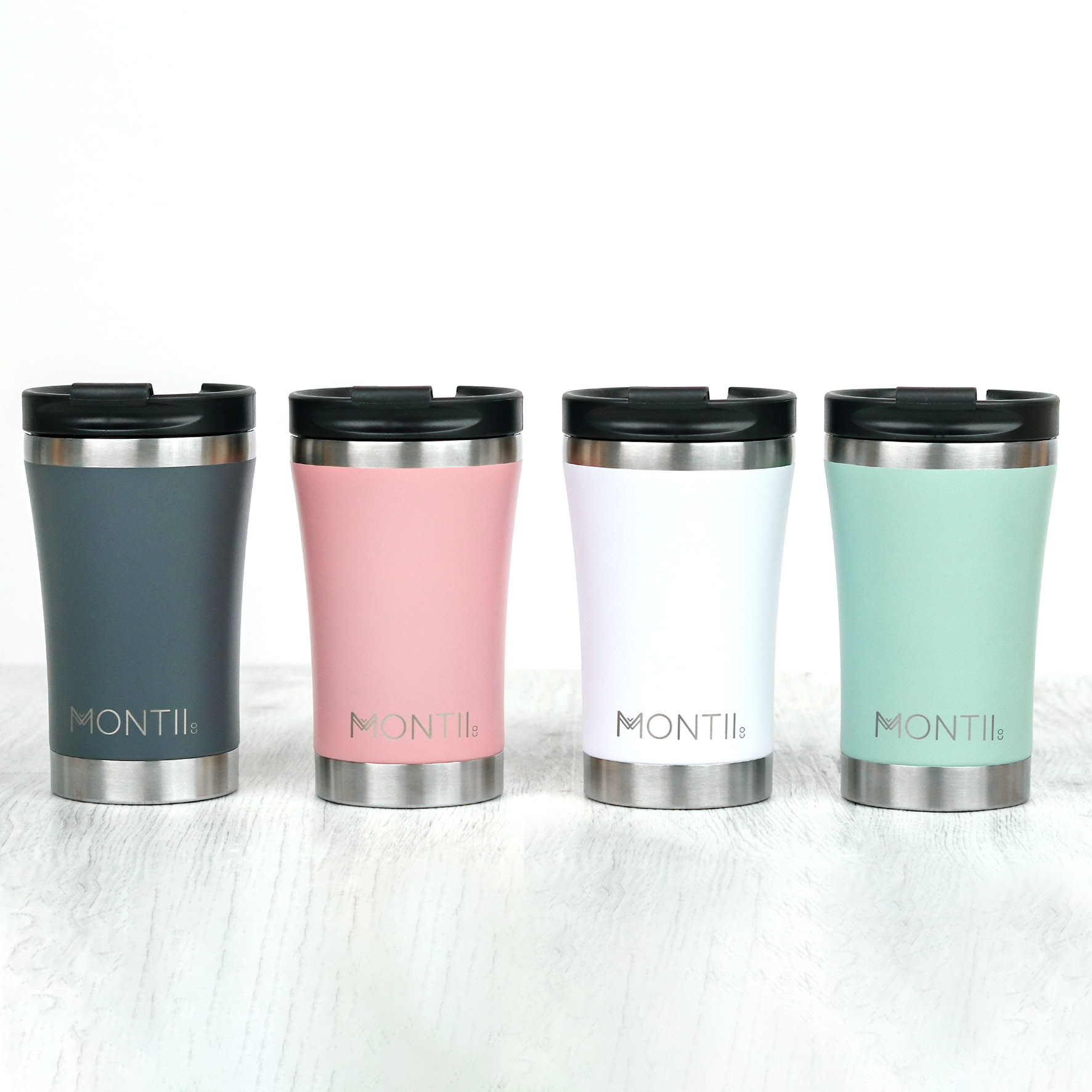 MontiiCo Reusable Regular Coffee Cup - 350ml