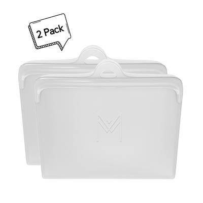 Montiico Reusable Silicone Food Pouch Clear