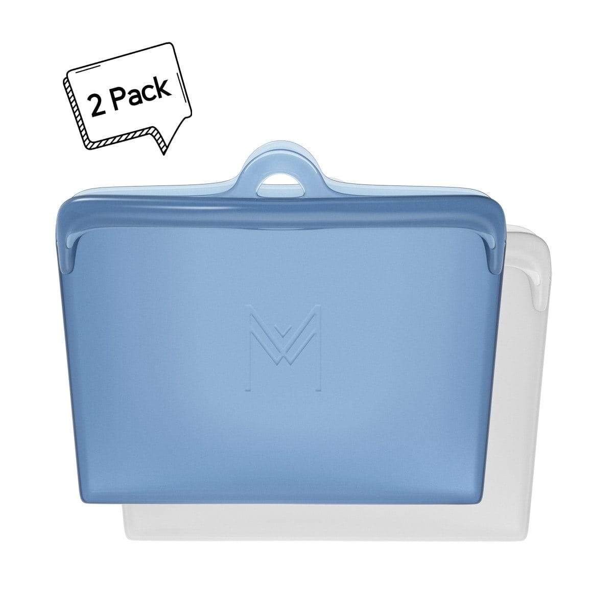 Montiico Reusable Silicone Food Pouch Slate