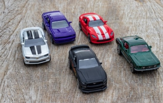 Muscle Cars 5 pce Giftpack