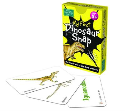 My 1st Dinosaur Snap Cards