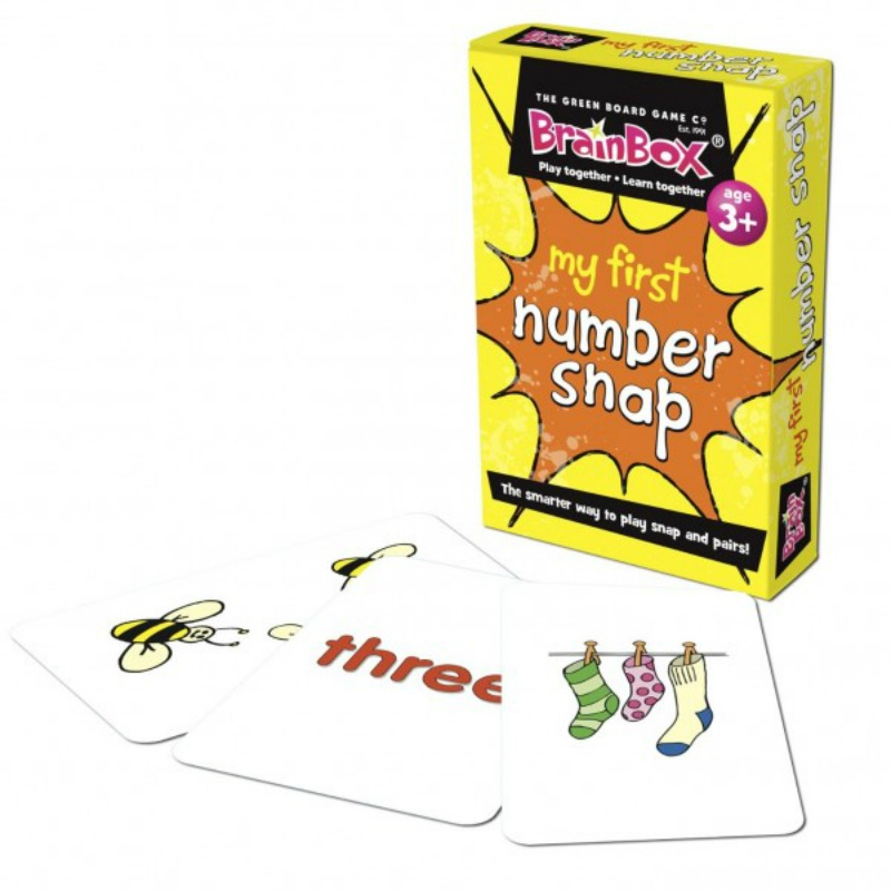 My 1st Number Snap Cards