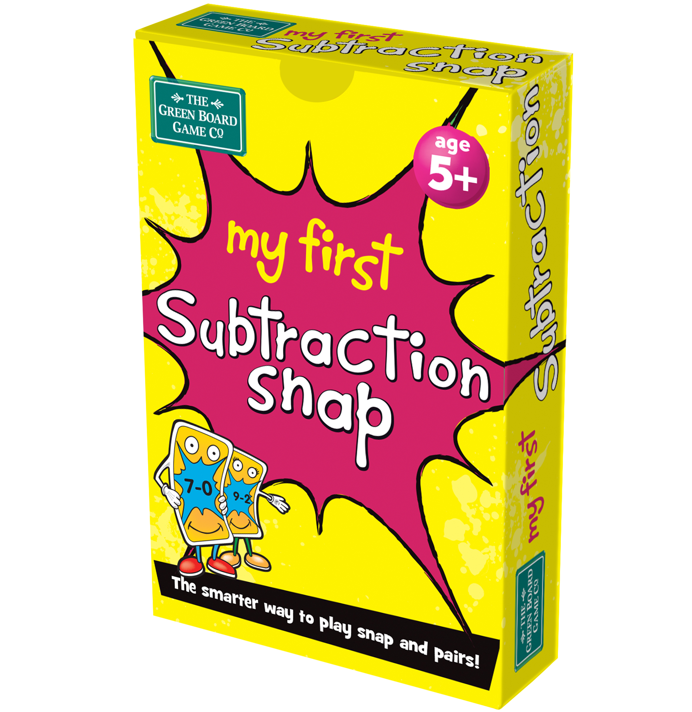 My 1st Subtraction Snap Cards
