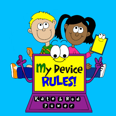 My Device Rules - Kids Tech-Safety Book