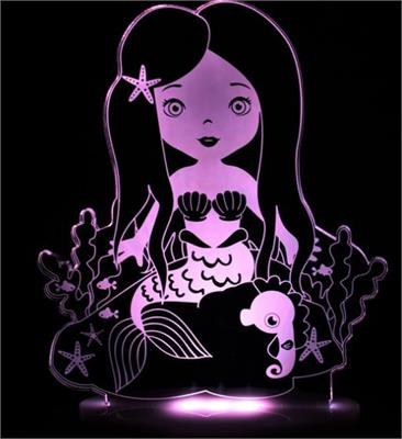 My Dream Light LED Night Light Mermaid PLUG IN