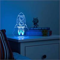 My Dream Light LED Night Light Rocket PLUG IN 1