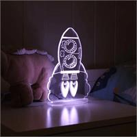My Dream Light LED Night Light Rocket PLUG IN