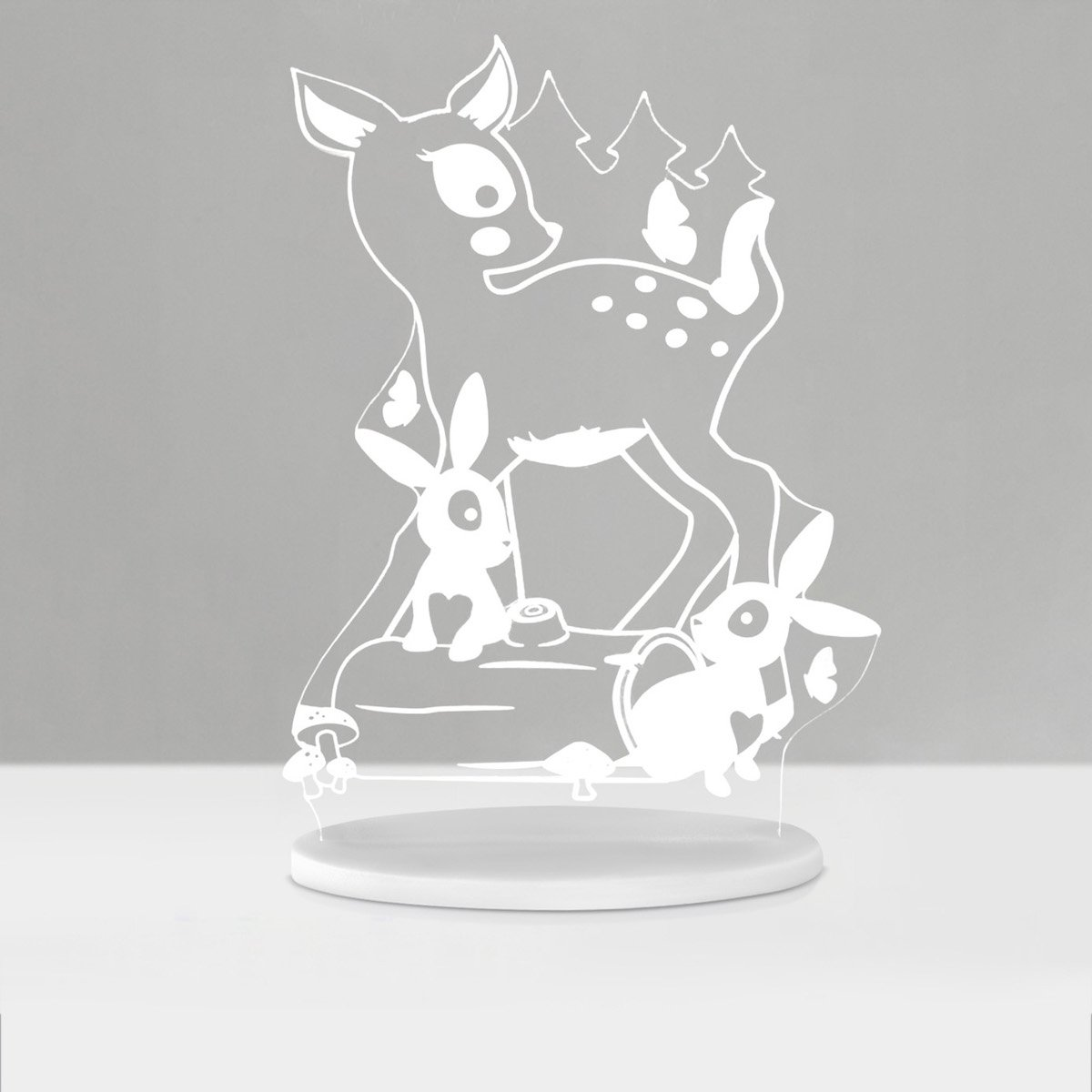My Dream Light LED Night Light Woodlands PLUG IN 3