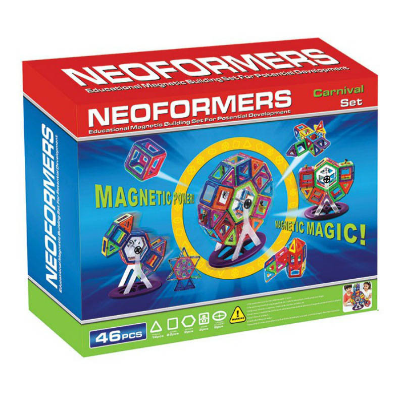 Neoformers - Magnetic Building Carnival 46pcs Set