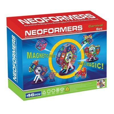 Neoformers Magnetic Building Carnival 46pcs Set