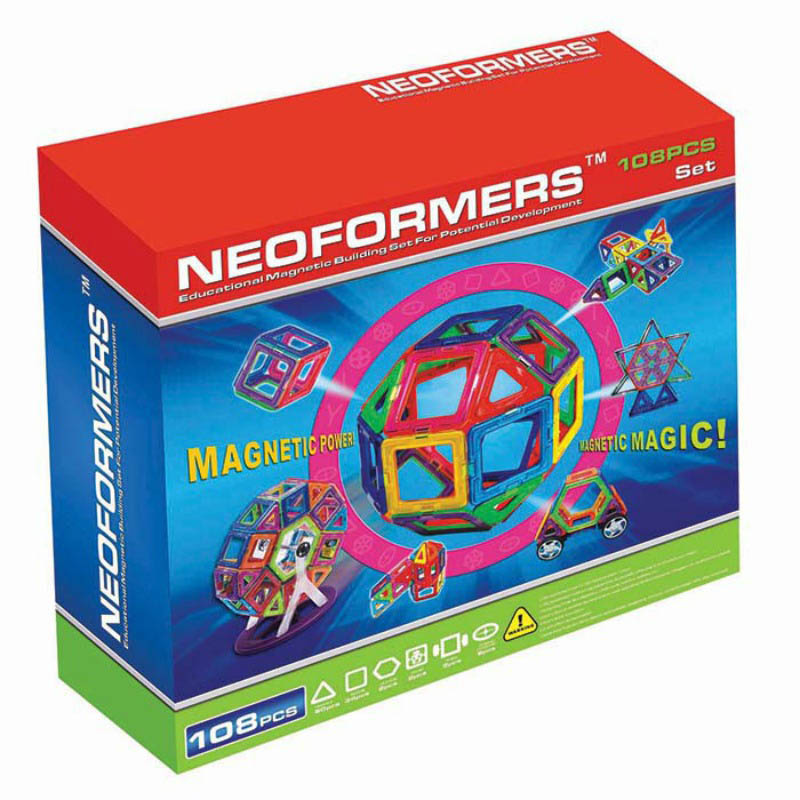 Neoformers - Magnetic Building 108pcs Set