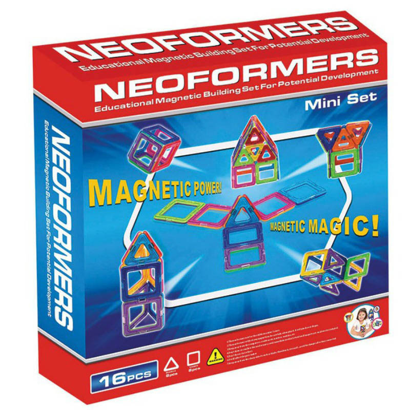 Neoformers Magnetic Building 16pcs Mini Set