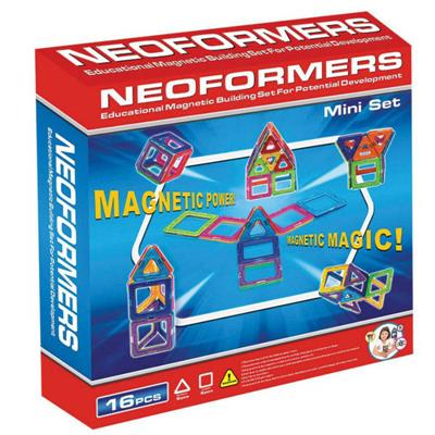 Neoformers - Magnetic Building 16pcs Mini Set