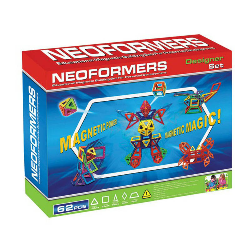 Neoformers Magnetic Building 62pcs Designer Set