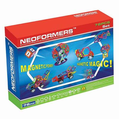 Neoformers Magnetic Building 78pcs Set