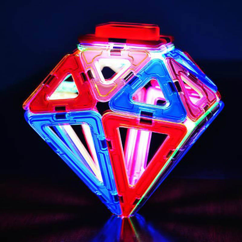 Neoformers - Magnetic Building LED Lighted Set
