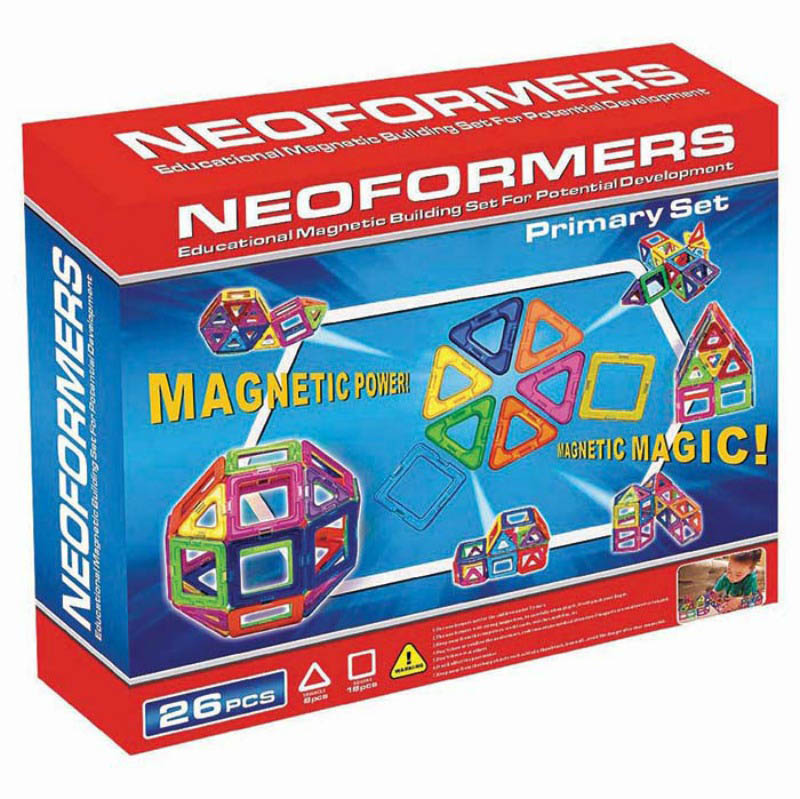 Neoformers - Magnetic Building Primary 26pcs Set