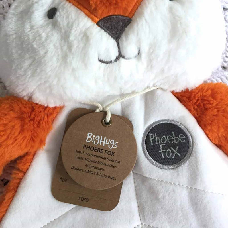 O.B Designs Comforter - Phoebe Fox (Orange)