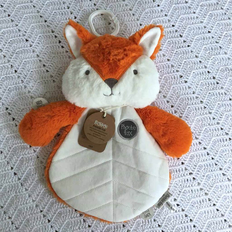 O.B Designs Comforter Orange Phoebe Fox