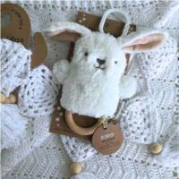 O.B Designs Dingaring - Beck Bunny (White)