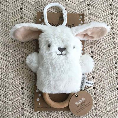 O.B Designs Dingaring White Beck Bunny