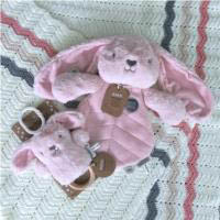 O.B Designs Dingaring  and Comforter - Betsy Bunny (Pink)