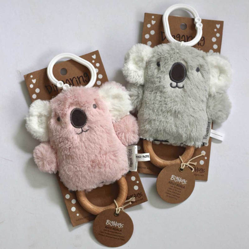 O.B Designs Dingaring - Kelly Koala (Grey) and Kelly Koala (Pink)