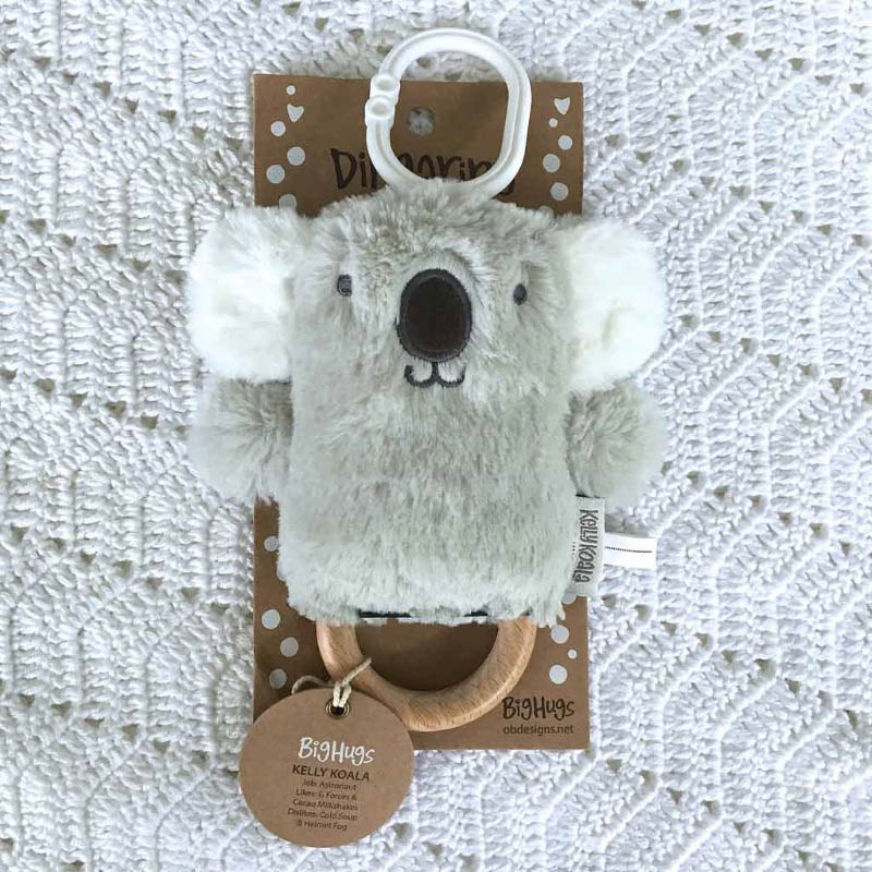 O.B Designs Dingaring Grey Kelly Koala
