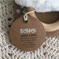 O.B Designs Dingaring - Leesa Lamb (White)